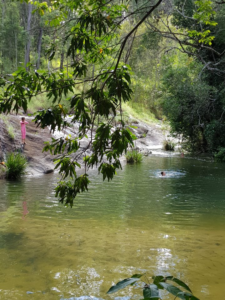 Our Gorgeous Swimming Hole